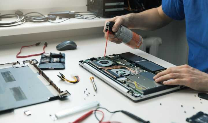 Get Laptop Professionally Cleaned