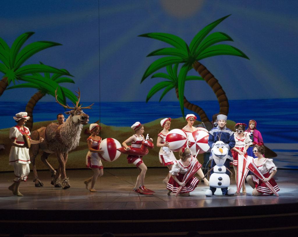 Olaf Dreams of Summer - Photo by (Scott Brinegar/Disneyland Resort)