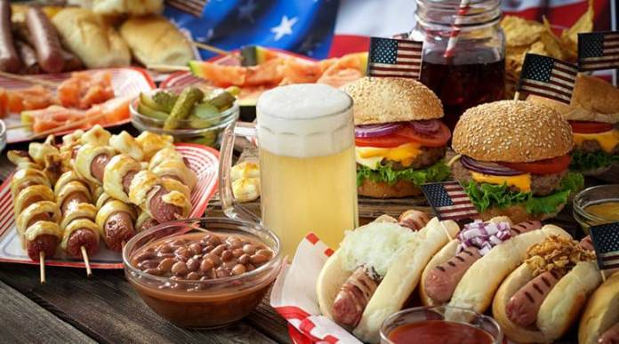 Top 10 American foods for Lunch