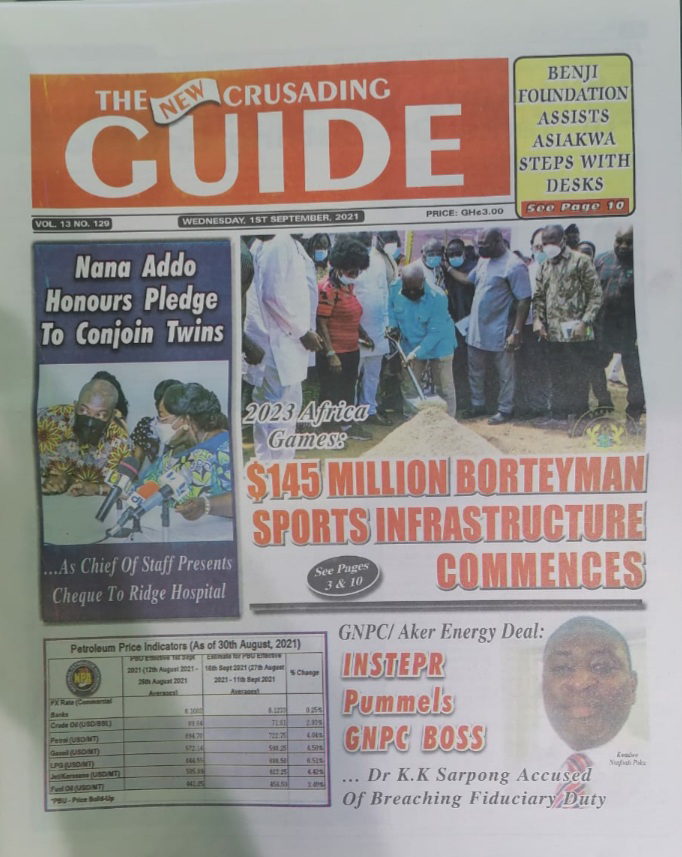 THE NEW CRUSADING GUIDE