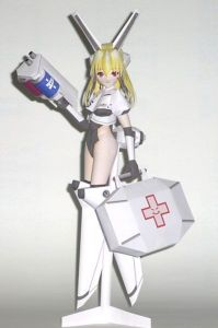 Anime Nurse Papercraft