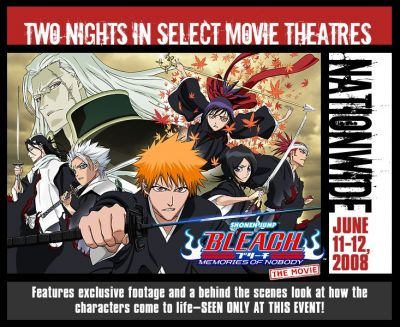Bleach Memories of Nobody in Theaters