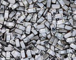 Recycled cell phones are being mined for thier precious metals