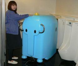 Dasubee the toilet scrubbing robot