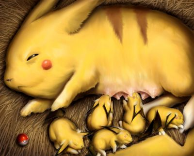 The mother of Pikachu
