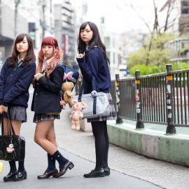 The end of Japanese schoolgirl skirts?