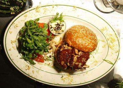 The Wallstreet Burger Shoppe $175 burger