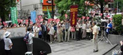 Angry PTA members in Japan