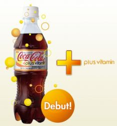 Coke Japan: Plus Vitamin