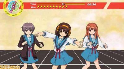 Haruhi Dance Game Wii