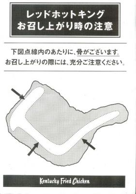 KFC Japan: Bones Diagram