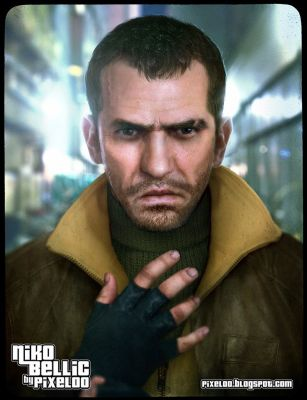 Real life Niko Bellic from GTA4