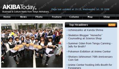 Akiba Today site launch