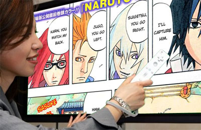 Manga on the Nintendo Wii