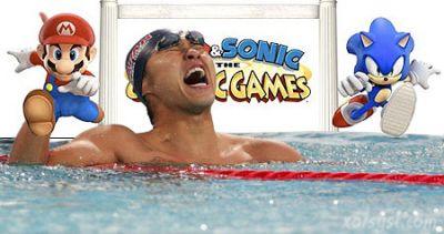 Kosuke Kitajima, Mario, Sonic at the Olympic games