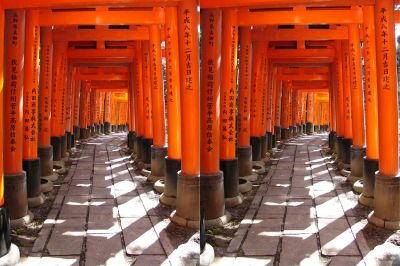 Stereophotos of Japan