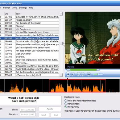 How to make your own fansubs