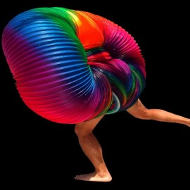 Human Slinky Is Freaky