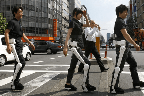 Exoskeleton suit now available to public