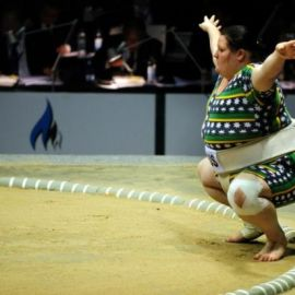 14 year old girl to compete in Sumo World Championships
