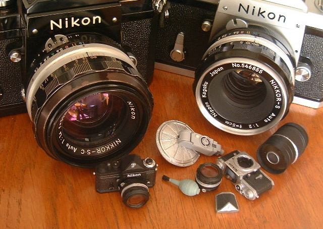 Mini Nikon SLR in Japanese candy