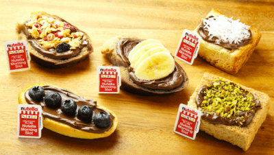 Nutella on Toast Japan