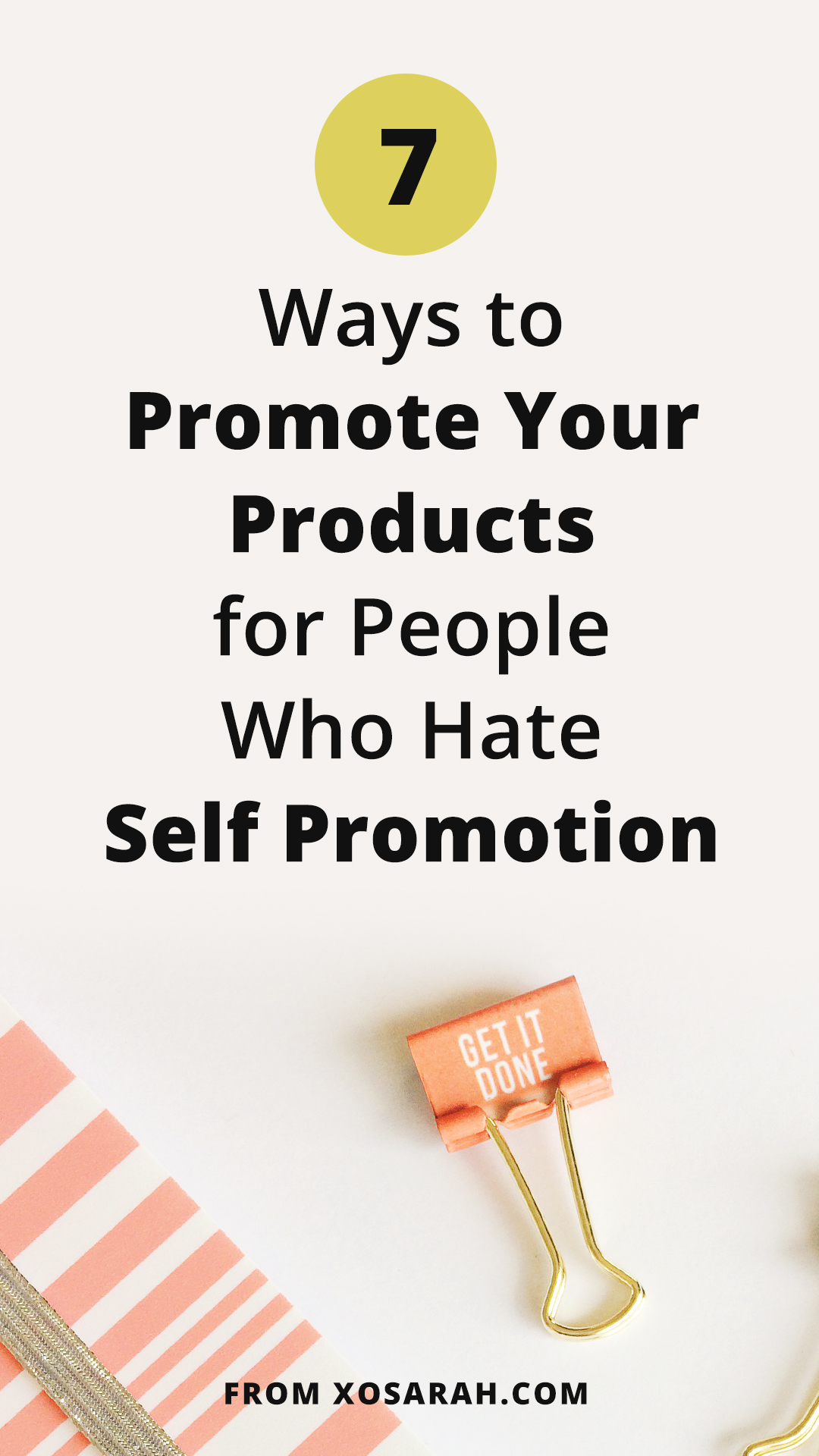 If the idea of promoting yourself or your stuff makes you cringe, here's how to market + grow your business even if you hate self-promotion. Unique ideas to help market your creative products.
