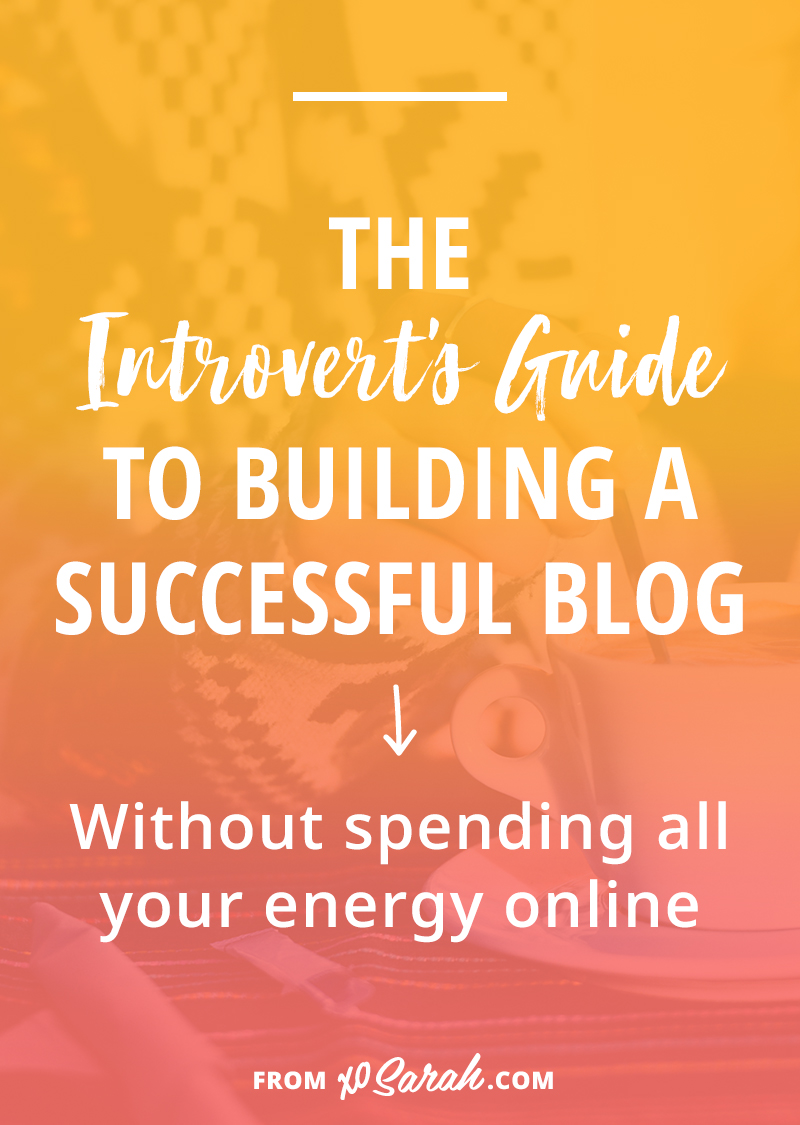 Being visible online is an important part of building a blog. It allows your audience to get to know you and it makes it easier for you to learn from them too. But being social and going live requires a MASSIVE amount of energy. And if you're an introvert, it can make some workdays feel extra stressful. Here's how to get organized, be purposeful and conserve your energy while still being active online.