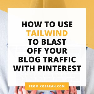 TailWind has been THE KEY to increasing my blog traffic with Pinterest. Click through for a full tutorial, plus my tips + tricks for getting organized and growing your blog traffic.