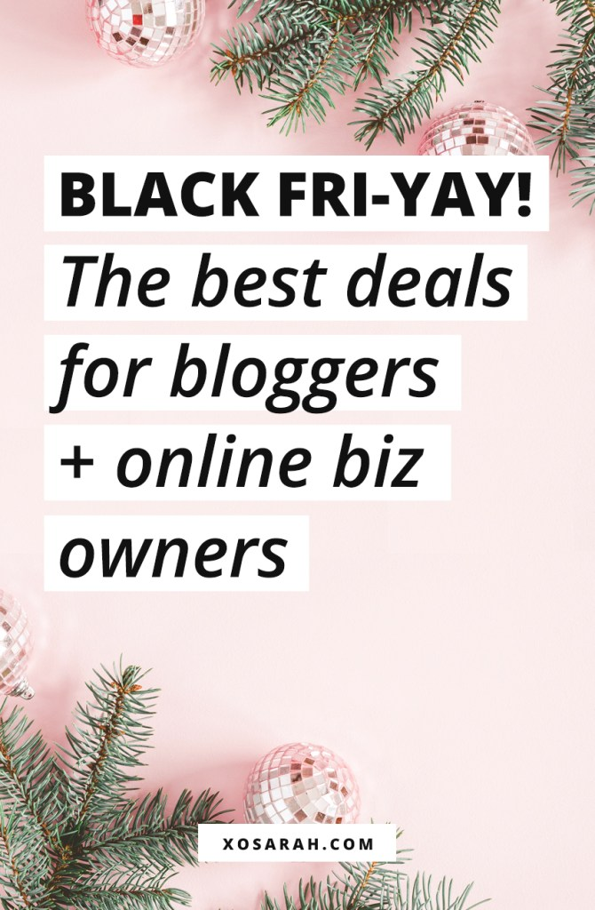 Check out the best Black Friday + Cyber Monday deals for bloggers, online business owners, solopreneurs, freelancers, and entrepreneurs. Discounts for ConvertKit, Teachable, WordPress themes, HoneyBook, online courses, and more!