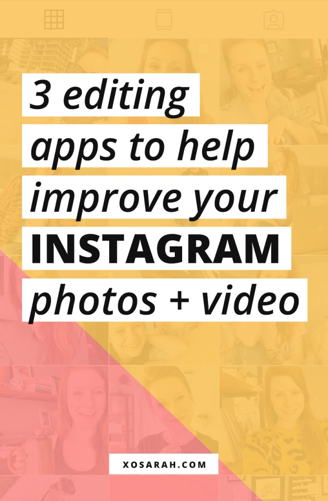 Create better Instagram photos with these three apps. Tips and tricks to improve your photography and editing and grow your followers for your business!