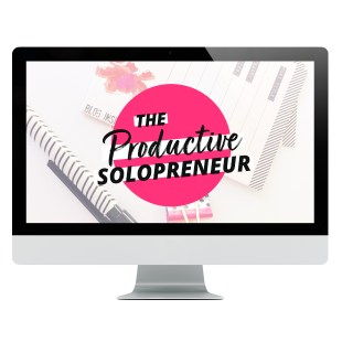 The Productive Solopreneur online course from XOSarah
