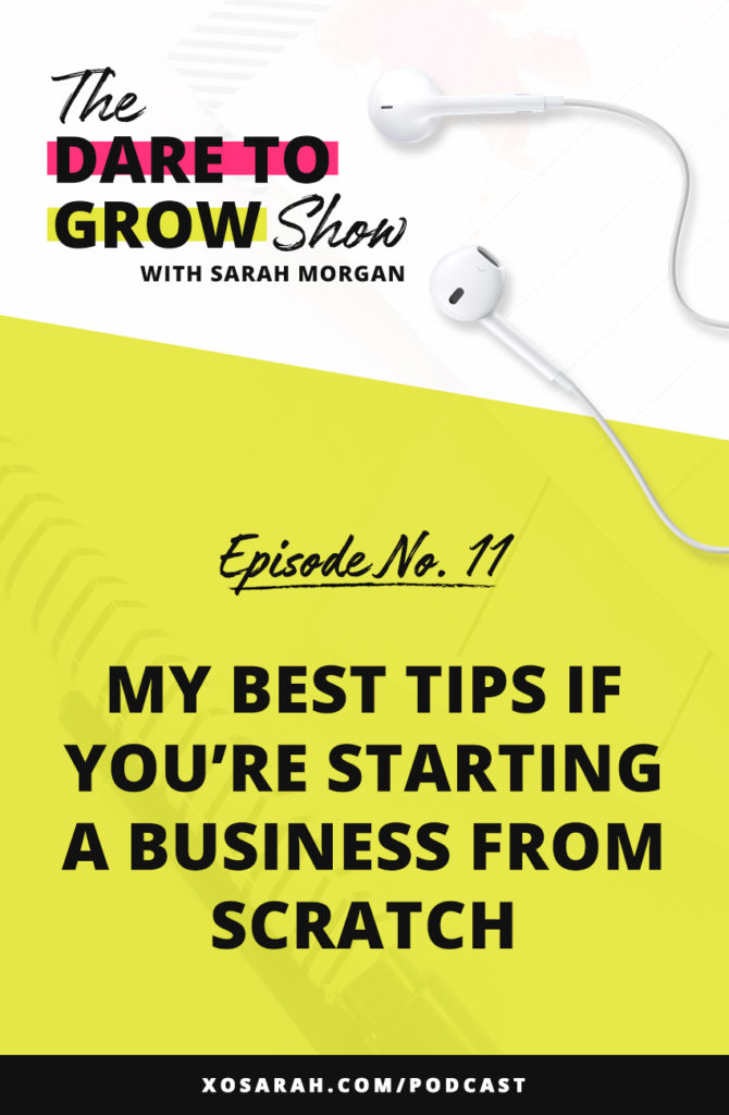 After 7 years as a solopreneur, here are the things I would focus on if I were to dive into entrepreneurship and start a business from scratch. The mindset, the strategies, and the tips to help you be successful in biz from day one!