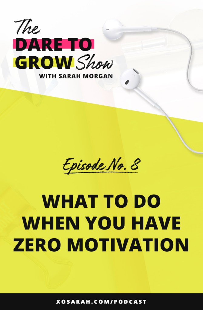 Stuck with a giant to-do list and not feeling motivated? Before you hop on Pinterest in search of ways to get more motivation, I've got a few tips for how to deal with it, how to create it, and how to figure out if motivation is really the problem.