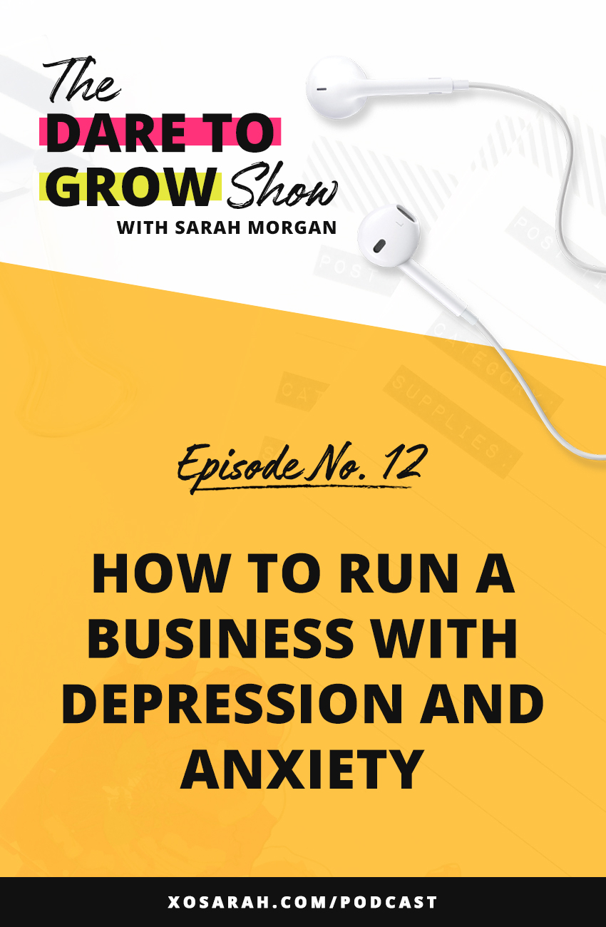 How does one run an online business, as a solopreneur, and provide value on social media when depression and/or anxiety shows up to ruin our workflow?? Here's how I stick to my deadlines, check off my task list, and keep my business growing when all I really want to do is go back to bed.