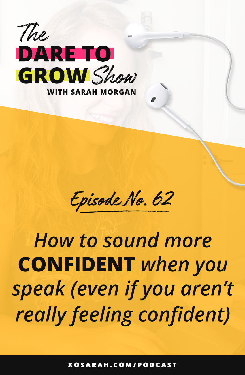 Trying to figure out how to be confident on video so you can start to go Live on Instagram, IGTV, Instagram stories, and Instagram Reels?? Here's how to sound more confident (even when you're not feeling it) and how to feel more confident selling your products and services.
