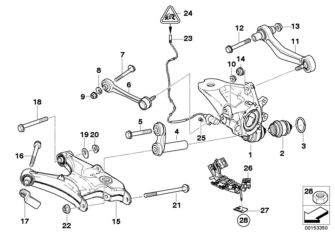E53 4 8is Rear Camber Wear