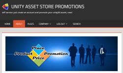Unity Asset Store Promotions