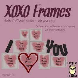 Little Llama - XOXO Frames http://maps.secondlife.com/secondlife/Butterfly%20Beach/70/80/23