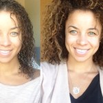 Day 3 Hair / Protective Styling curly