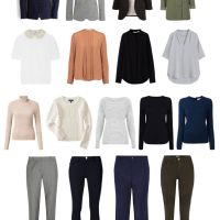 A Step Above Casual Workwear Capsule Wardrobe