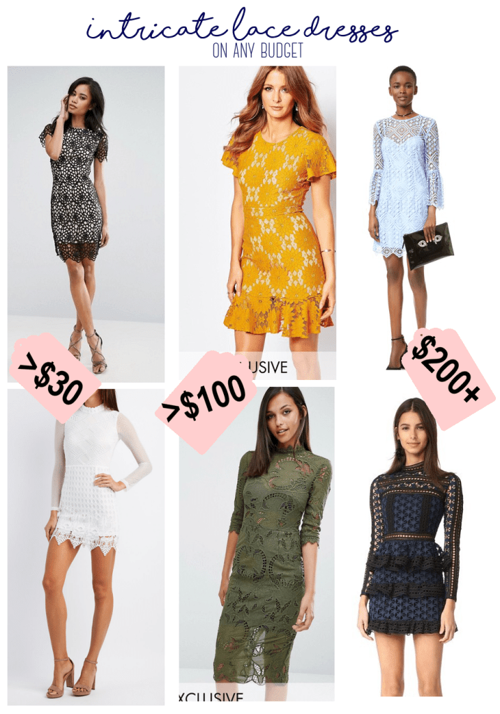 Style at any Budget: Intricate Lace Dress life-style