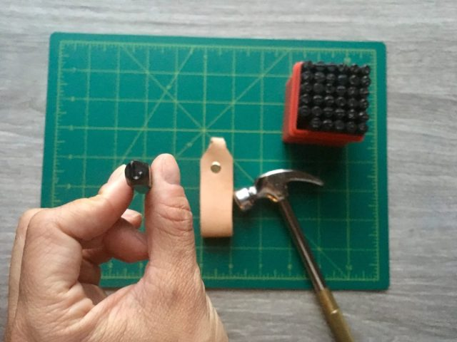 DIY: Personalized Leather Keychains diy
