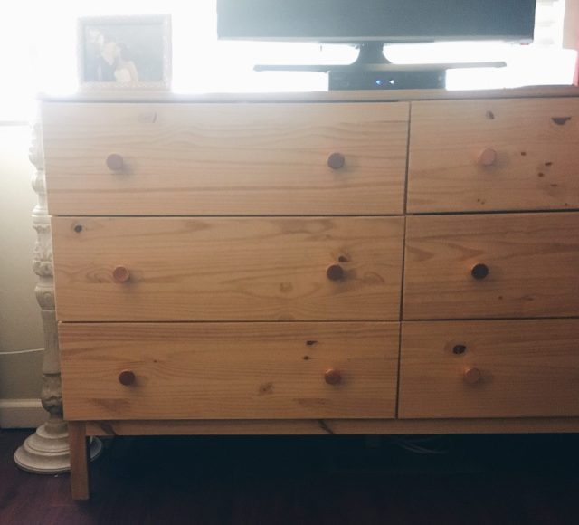 Quick Hack: Updated Dresser diy