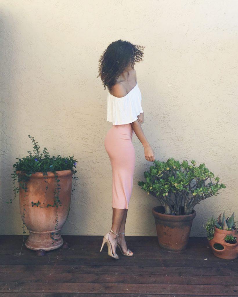 DIY: Quick Tube Skirt diy
