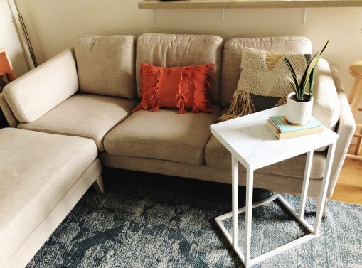 How to Update a Table with Contact Paper diy