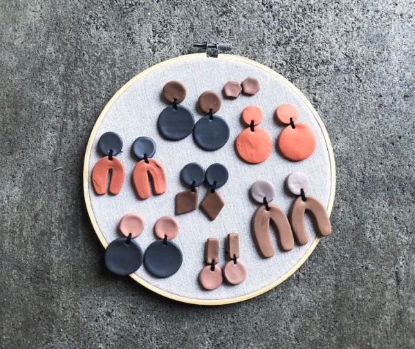 Set of Clay Earrings
