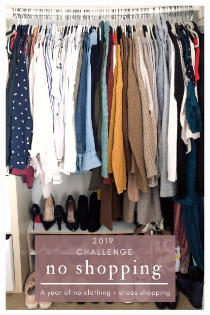 2019 Clothing Challenge personal life-style