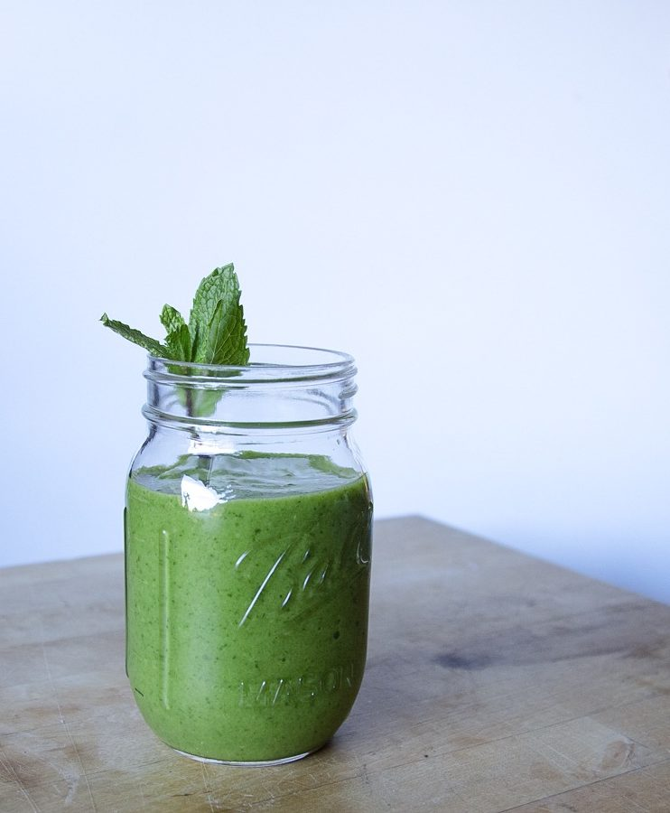 My favorite refreshing green smoothie - Popeye went on vacay recipes