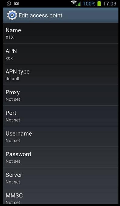 setting-apn-onexox-android